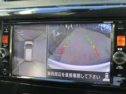 360°アラウンドビューモニター付きで駐車も安心!