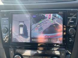 ☆アラウンドビュー☆ 苦手な駐車もラクラク♪車の周囲に子供や障害物などがないかをひと目で確認できて安心!