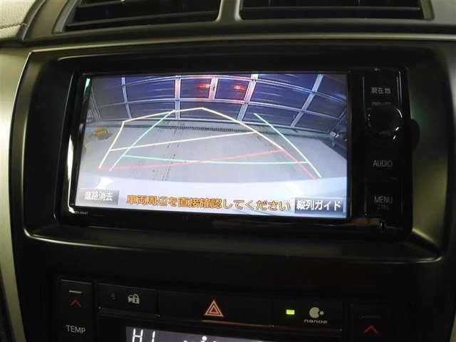 駐車時バック時の安全確認を サポート! バックモニター