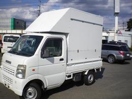 スズキ キャリイ 660 KCエアコン・パワステ 3方開 移動販売車・キッチンカー仕様車検4年8月