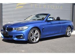 BMW 4シリーズカブリオレ 435i Mスポーツ 黒革・LEDヘッドライト