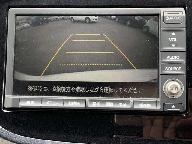 リアカメラも付いています^^車庫入れの苦手な方にうれしい装備!!車庫入れをサポートしてくれます☆あくまで駐車時の補助装備ですので、目視が必要です。
