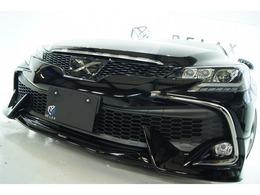 トヨタ マークX 2.5 250G Sパッケージ リラックスセレクション RDS3眼ヘッドライトNEWタイプ新品アルミ