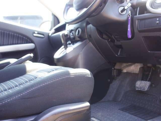★ステアリングやシートの位置も細かく調整でき、理想の運転姿勢が取れます★