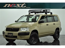 トヨタ サクシードバン 1.5 U 4WD リフトアップ キャリアラック カスタム