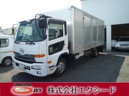 UDトラックス コンドル 4トンパネル ワイドロング MK38L バックカメラ・ETC付・ 観音開き