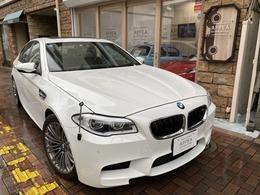 BMW M5 4.4 左H 後期型 1オーナー SR 黒革 記録有 Sキ-