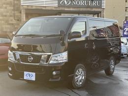 日産 NV350キャラバンワゴン 2.5 GX(オートスライドドア付) ロングボディ 低床 ワンオーナー ユーザー買取車 社外ナビ
