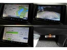 カロッツェリアメモリーナビ装備です!型番AVIC-MRZ02(1セグTV非搭載モデルです) バックカメラやETCも装備です。