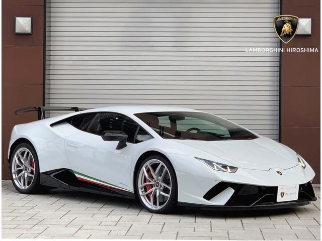 HURACAN Performante (Bianco Icarus)