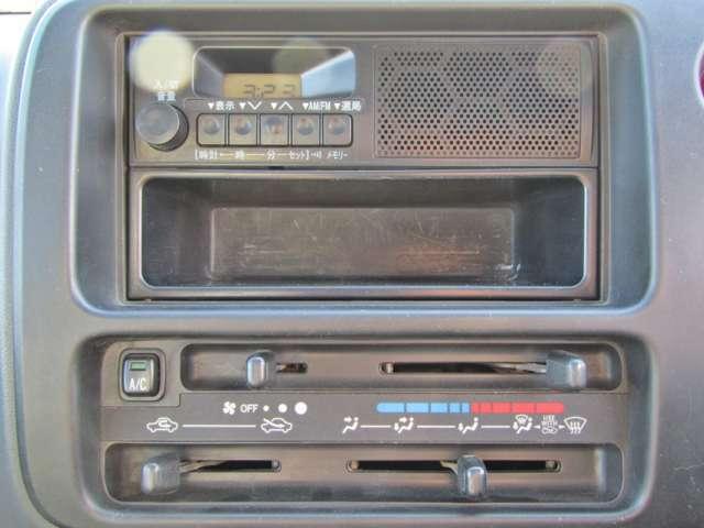 AMラジオ&エアコンもしっかり完備♪