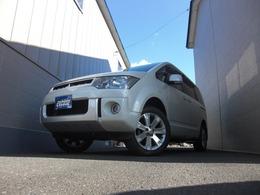 三菱 デリカD:5 2.4 G パワーパッケージ 4WD スタッドレスタイヤ付き