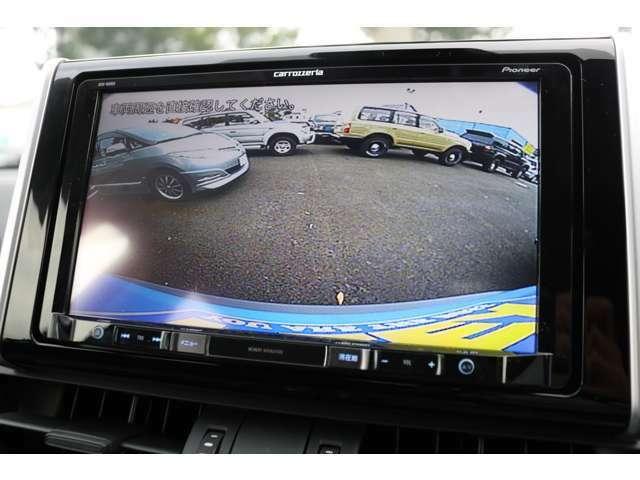 大画面で見やすい、カロッツェリア9インチナビを装着!バックカメラも連動済です!