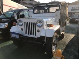 三菱 ジープ レストア再塗装車