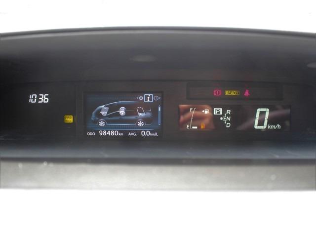距離もまだまだ9.8万キロ!JC08モードでも燃費も26.2km/L!!