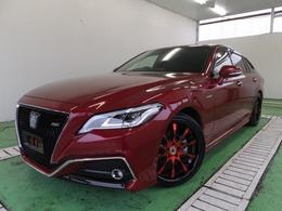 トヨタ クラウン ハイブリッド 2.5 RS アドバンス -紅-JPカラーセレクションPKG サンルーフ