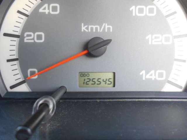 走行125545km。