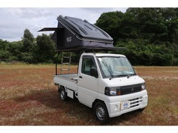 三菱 ミニキャブトラック 660 VX-SE エアコン付 ルーフテント 軽トラキャリア付き