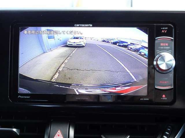 カロッツェリア AVIC-RW900 とっても使い易いメモリーナビ付きです。フルセグTV+DVDが視聴できます。バックモニター付きです、ギヤーをリバースに入れると自動でナビ画面に後方の映像が映ります♪