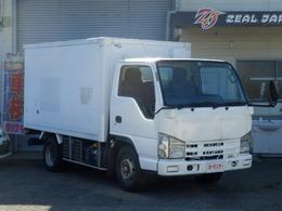 いすゞ エルフ 3.0 フラットロー ディーゼルターボ 冷凍冷蔵車/5速マニュアル/バックカメラ