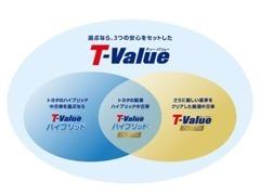 中古車選びの「不安」を「安心」に変えたい。T-Valueは安心が見えるトヨタのU-Carブランドです。豊富なラインナップをご用意!