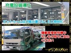 中国陸運支局許可.自社認証工場完備!!フルLEDのピットルーム!80台を超える厳選されたお車の数々からお選び頂けます。