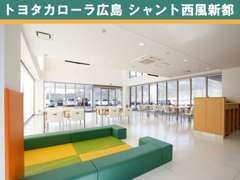 綺麗で明るく快適なショールームで皆様をお待ちしております。