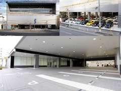 店舗はすぐに目につきますので、迷う事なくご来店いただけると思います♪お客様駐車場広々12台完備!☆
