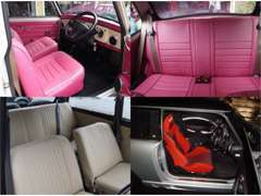 Classic MINIはもちろん、BMW MINIも内装・シート入替対応致します!お客様だけのMINIを仕上げてみませんか?