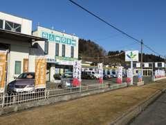 国道4号沿いです。岩手日野自動車さんの斜め向いです。