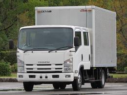 いすゞ エルフ 2.6t ワイド Wキャブ ドライバン P/G 内寸-長410x幅207x高204