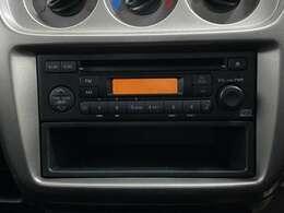 オーディオが搭載されています!音楽やラジオを掛けることができますよ!