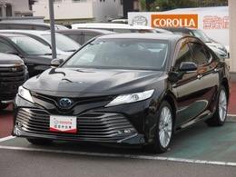 トヨタ カムリ 2.5 G レザーパッケージ T-connectナビ/衝突防止装置/LEDライト