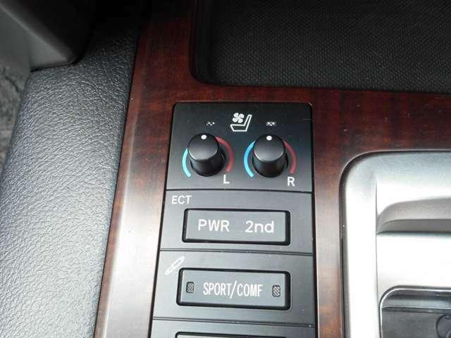 フロントシートヒーター&ベンチレーター、走行モード選択、ショックアブソーバー減衰力制御
