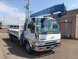 日野自動車 レンジャー 移動式クレーン