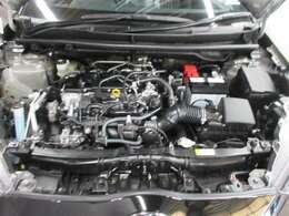 1.5Lエンジン 上り坂の加速・追い越し性能を磨き上げるとともに、優れた燃費性能を実現。