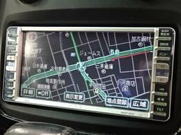 トヨタ純正HDDナビを装備☆