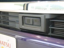 安全装備のカメラがついています。安心してお車に乗っていただけます。