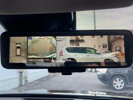 【アラウンドビューモニター】駐車時に車両周辺や後方確認もできますので、大きな車の運転で不安な方も安心してお乗りいただけます♪