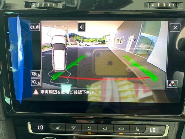 車庫入れの強い味方バックカメラ付き