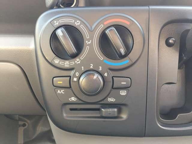 エアコンもしっかり完備♪常に快適な温度を保てます!