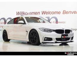 BMW 4シリーズグランクーペ 428i Mスポーツ 19インチアルミエアロマフラーレザーシート