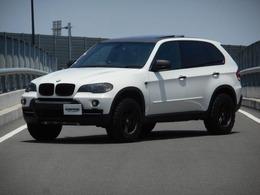 BMW X5 3.0si 4WD リフトアップ仕  Rigid LEDライト