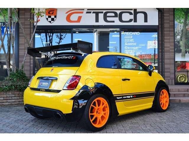 チョップドルーフ・RECAROシート・G-Tech17インチホイール・SportSter GT専用デカール