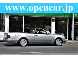 メルセデス・ベンツ ミディアムクラスカブリオレ 後期モデル E320カブリオレ ASD付 95年型最終モデル 94年9月生産