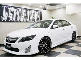 トヨタ カムリハイブリッド 2.5 Gパッケージ 新品20AW エアロ 車高調 ETC
