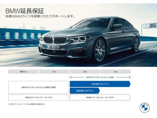 Bプラン画像:BMW Premium Selection 2年延長プラン