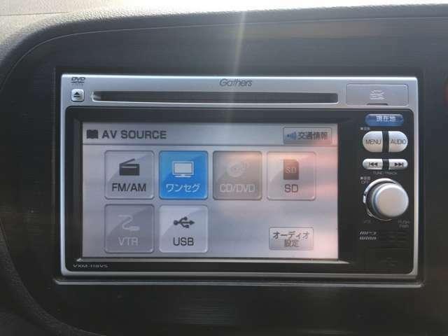 ワンセグTV付です。ドライブには欠かせない装備です。