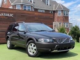ボルボ XC70 2.5T 4WD ナビ ETC 黒革シート