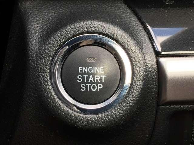 「キーレスアクセス&プッシュスタート」 カギを出さなくてもドアロック&解除、エンジンスタート&ストップが出来ます♪